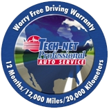 worry free driving warranty badge
